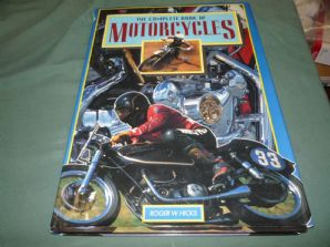COMPLETE BOOK OF MOTORCYCLES. (Hicks 1994)